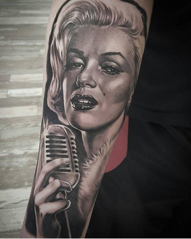 Marilyn Monroe Tattoo 70