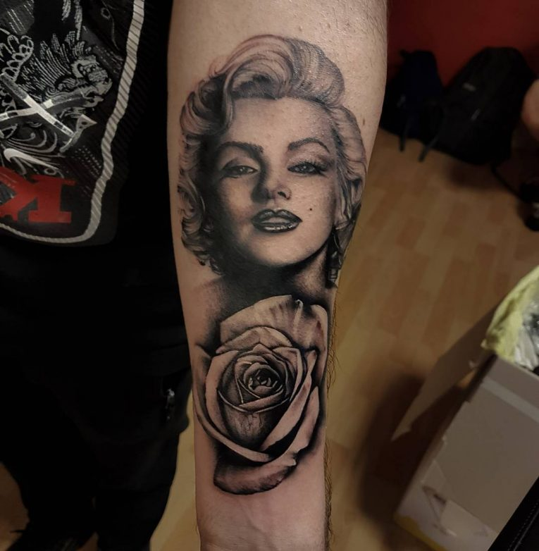 Marilyn Monroe Tattoo 71