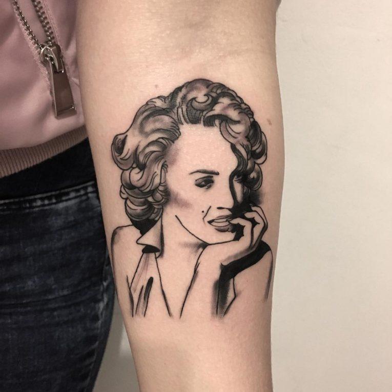 Marilyn Monroe Tattoo 72