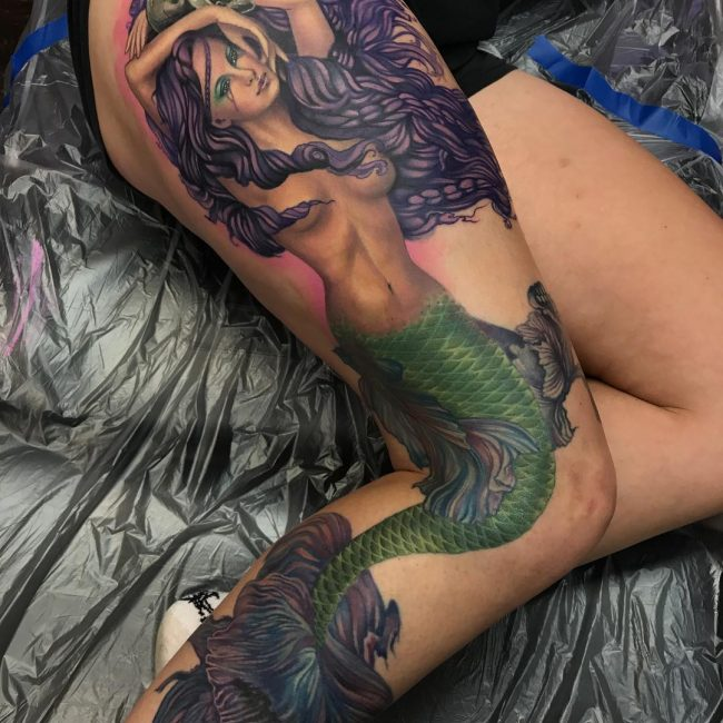 Mermaid Tattoo 71
