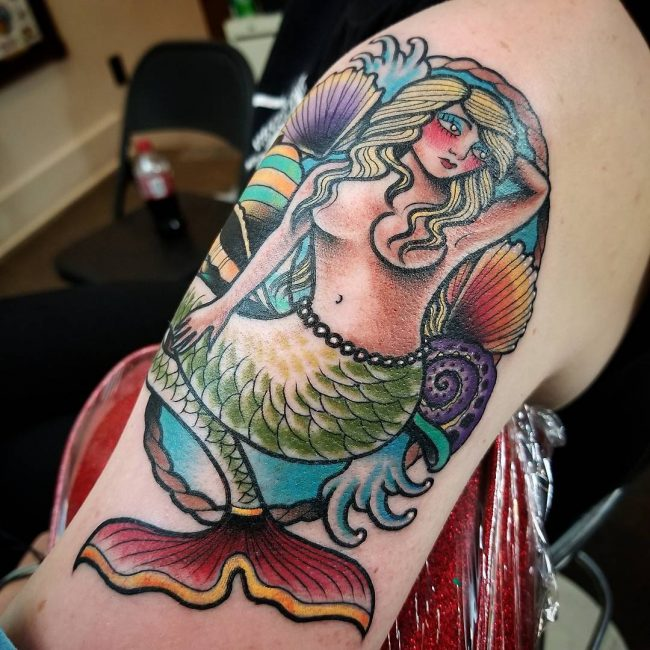 Mermaid Tattoo 72