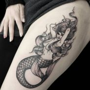 Mermaid Tattoo 74
