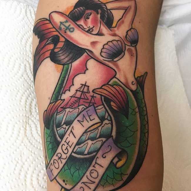 Mermaid Tattoo 75