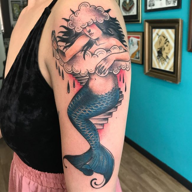Mermaid Tattoo 76