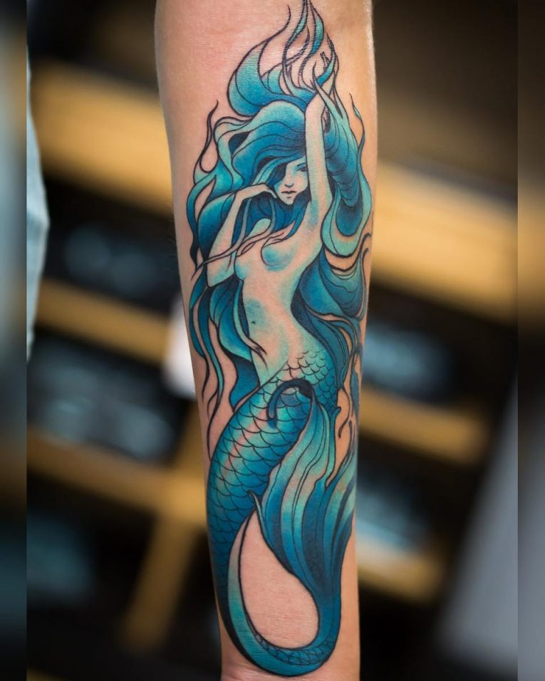 Mermaid Tattoo 82