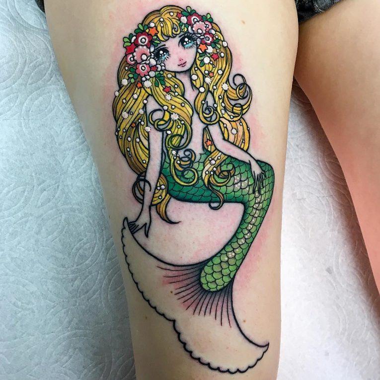 Mermaid Tattoo 83