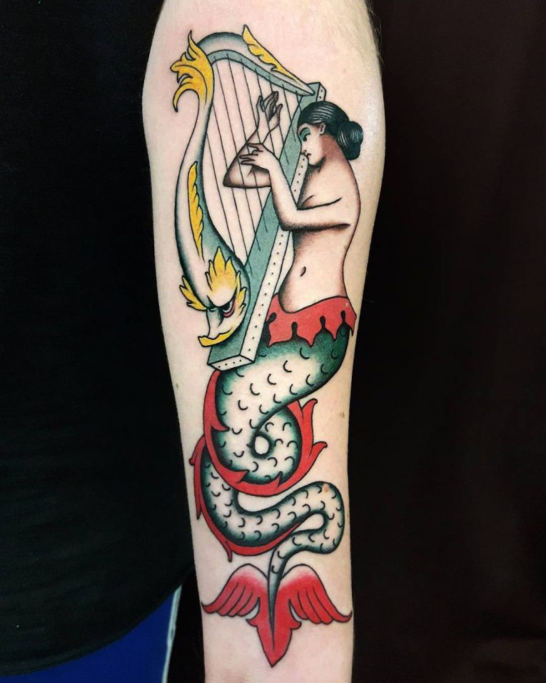 Mermaid Tattoo 85