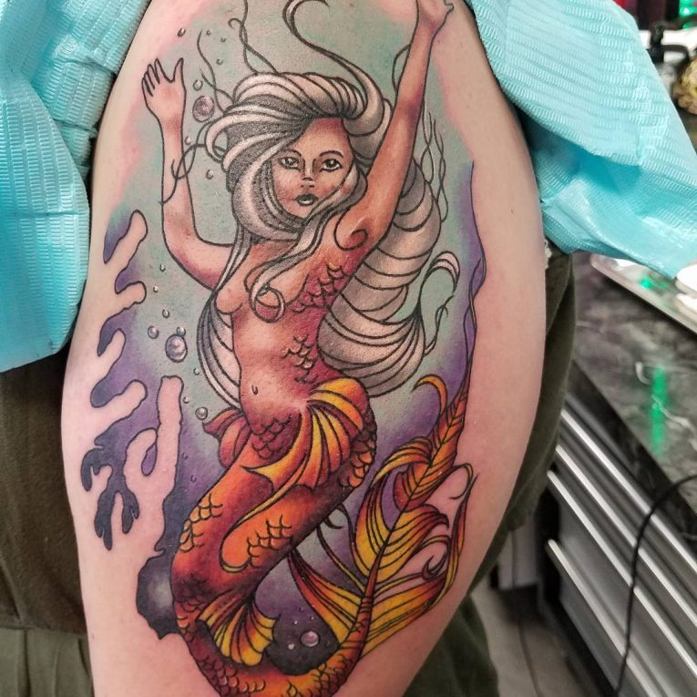 Mermaid Tattoo 90