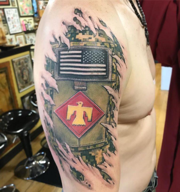 Military Tattoo 106