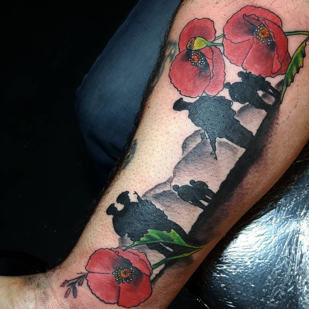 military symbols tattoos pictures to pin on pinterest tattooskid. Black Bedroom Furniture Sets. Home Design Ideas