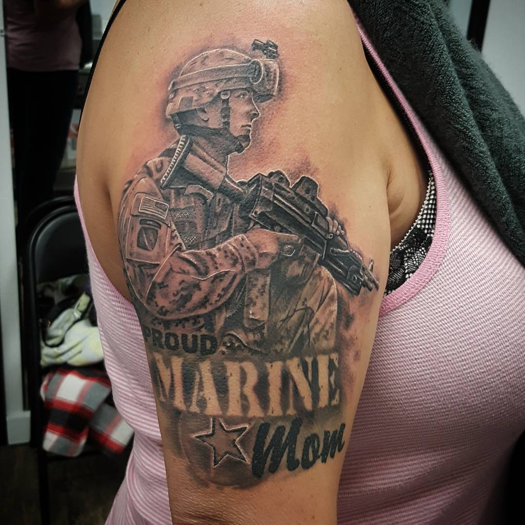 105+ Powerful Military Tattoos Designs & Meanings