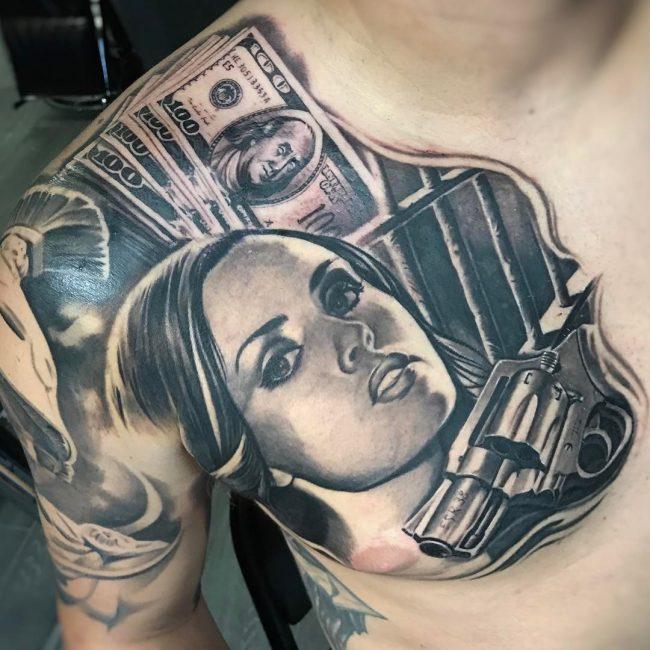 Money Tattoo 56