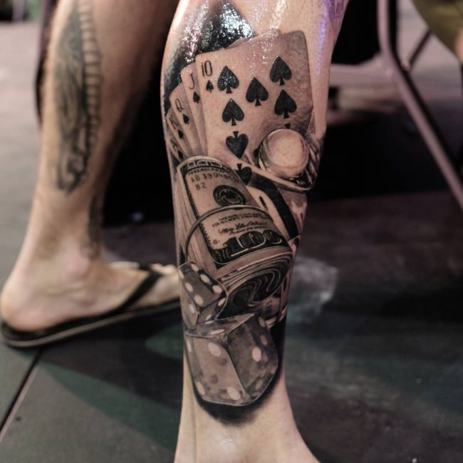 Money Tattoo 58