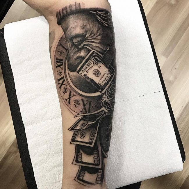 Money Tattoo 64