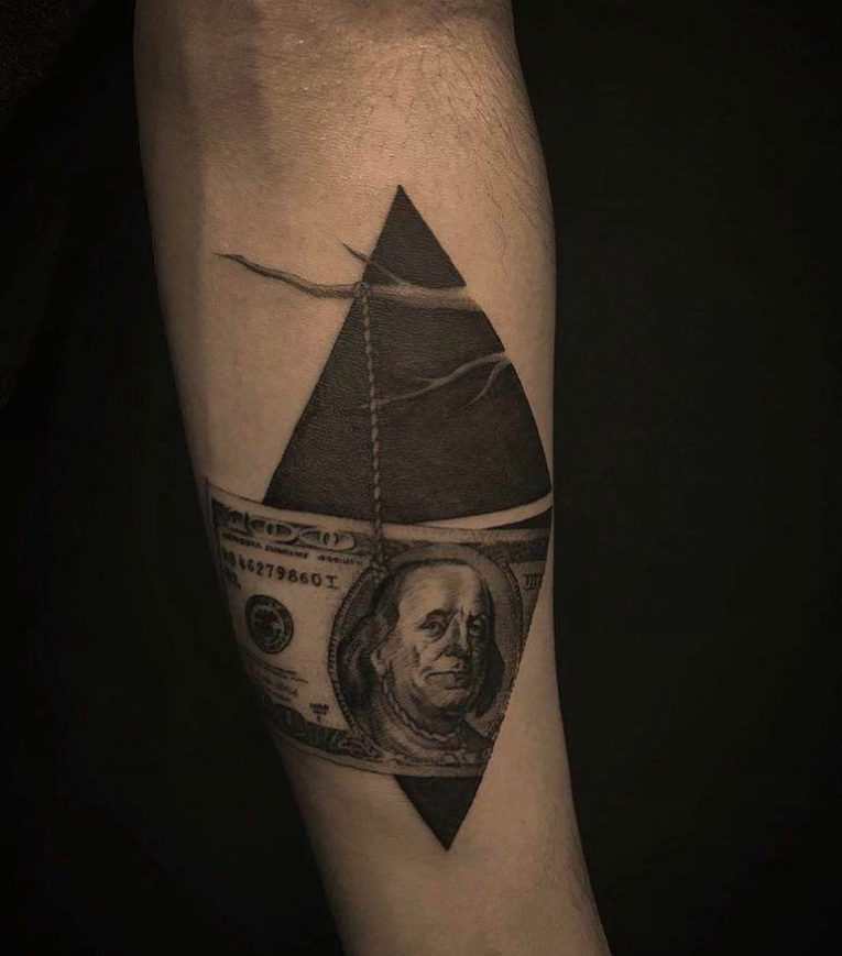 Money Tattoo 66