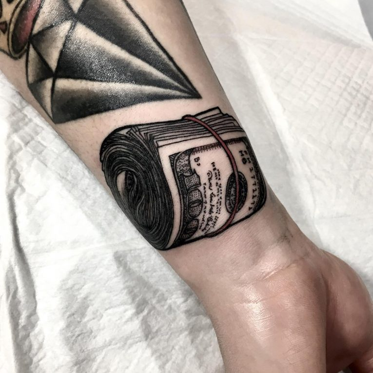 Money Tattoo 73