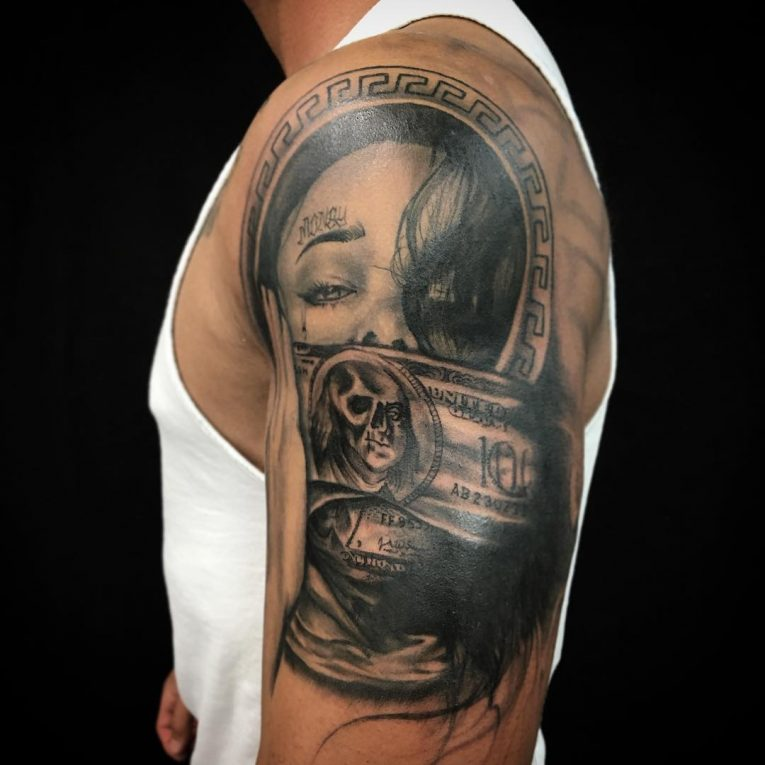 Money Tattoo 74