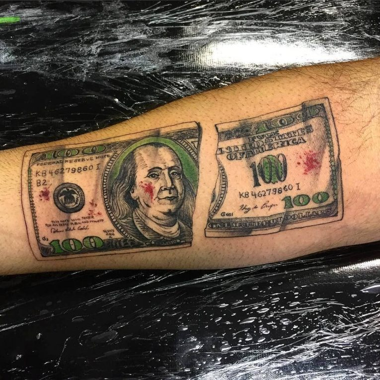 Money Tattoo 75