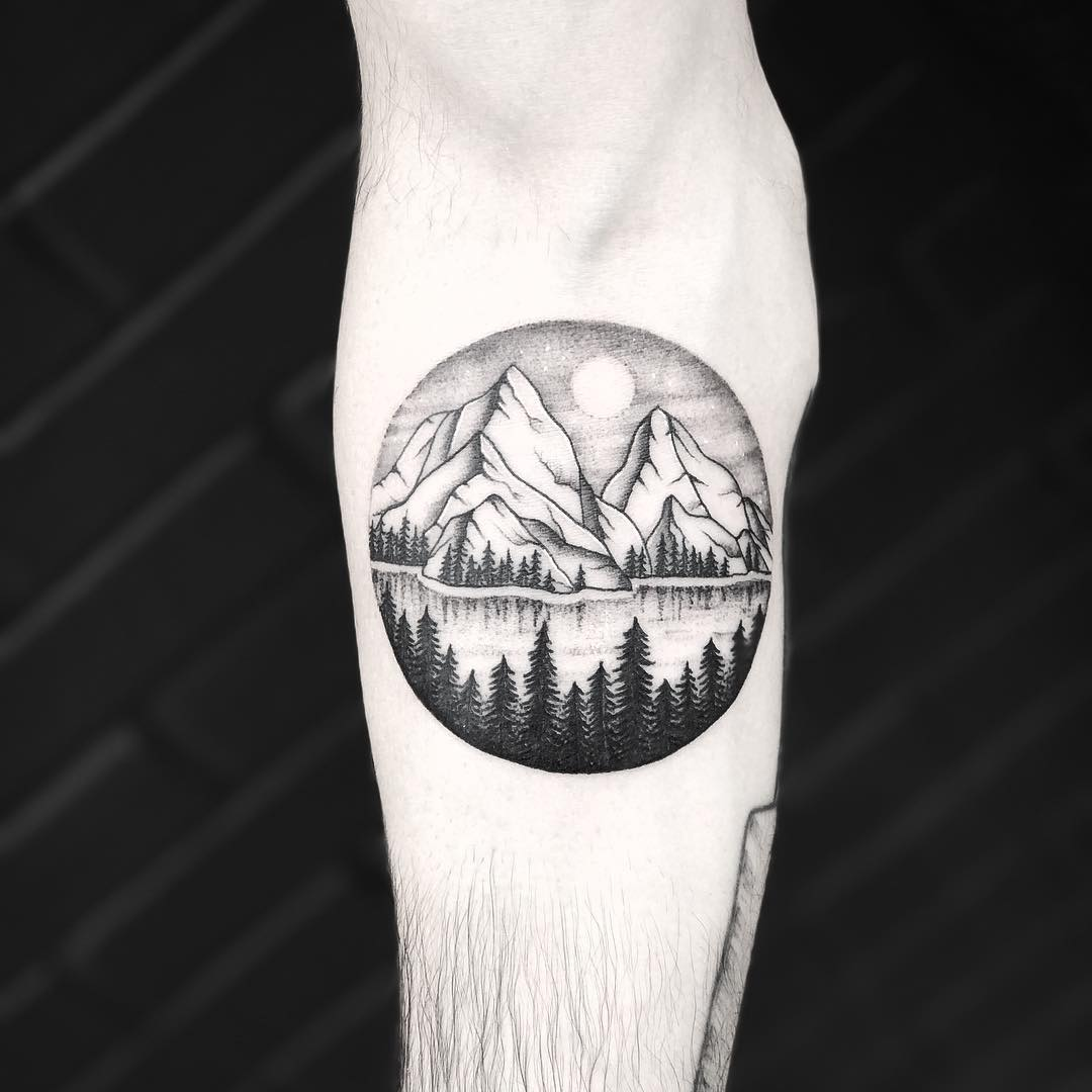 80+ Best Mountain Tattoo - Designs & Meanings for All Ages