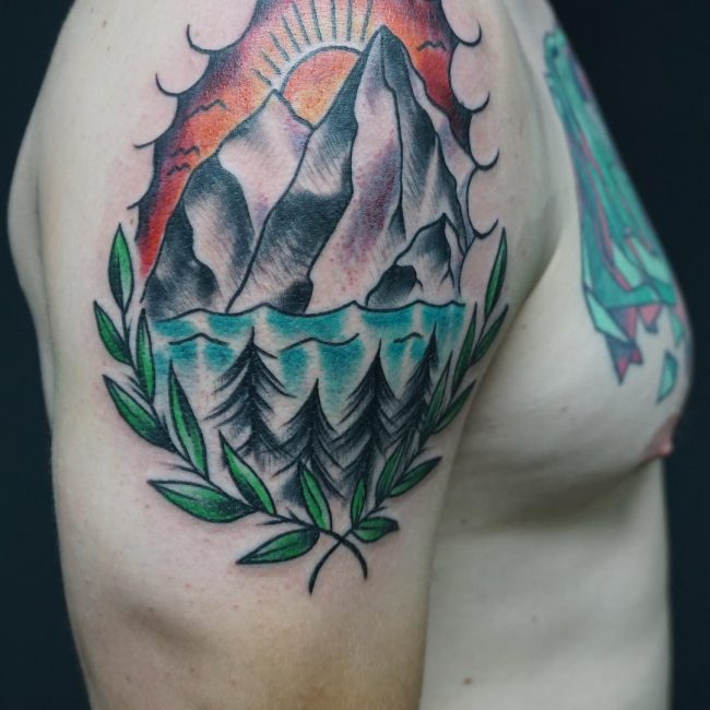 Mountain Tattoo 62