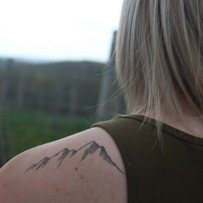 Mountain Tattoo 63