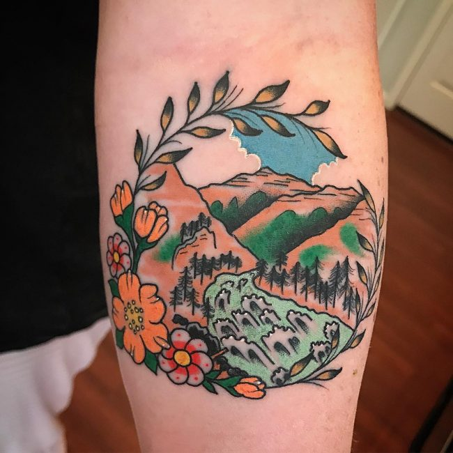 Mountain Tattoo 65