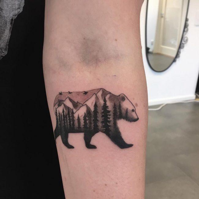 Mountain Tattoo 66