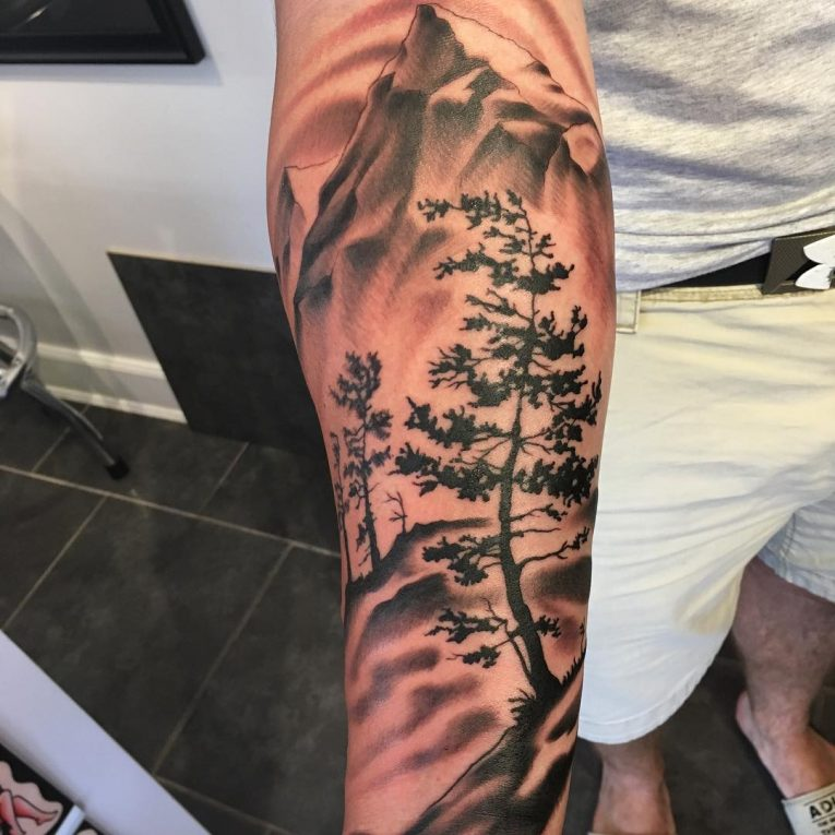 Mountain Tattoo 72