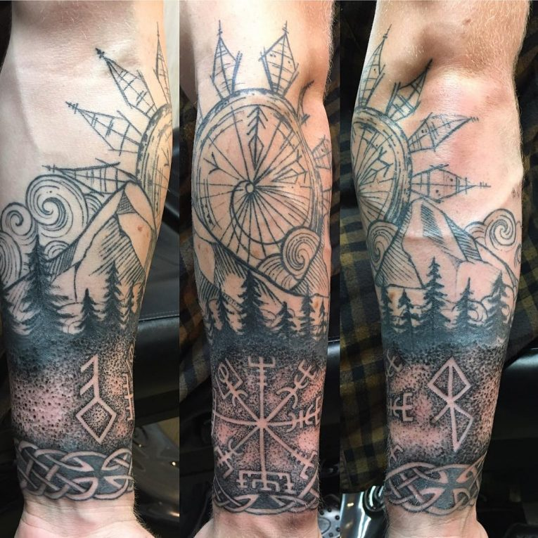 Mountain Tattoo 73