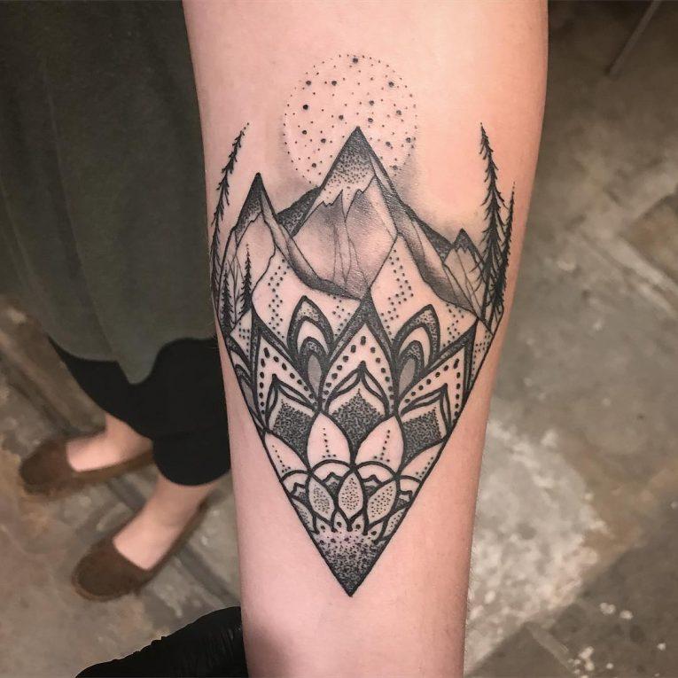 Mountain Tattoo 75