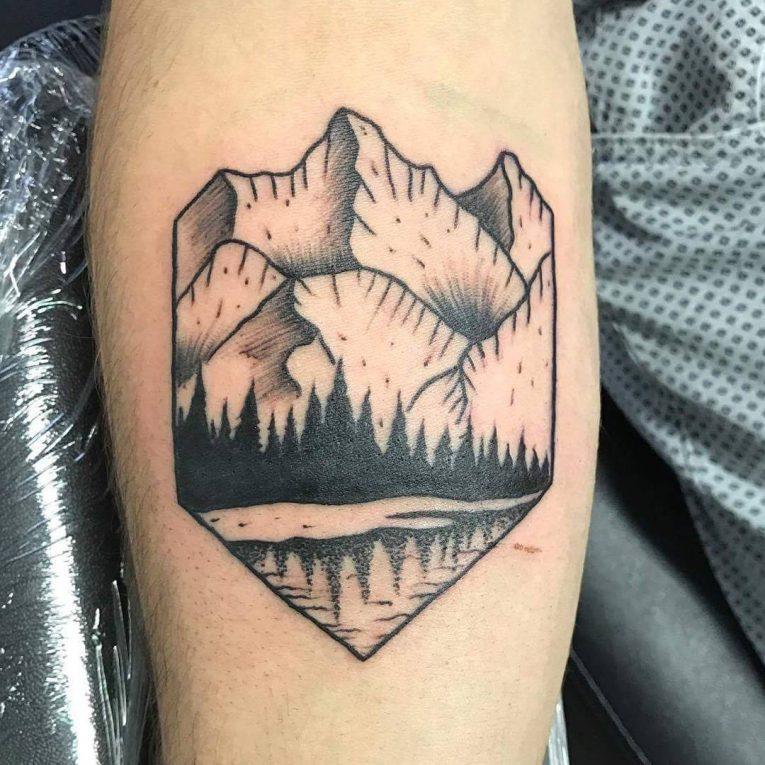 Mountain Tattoo 78