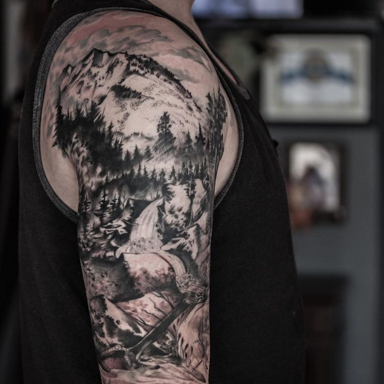 Mountain Tattoo 81
