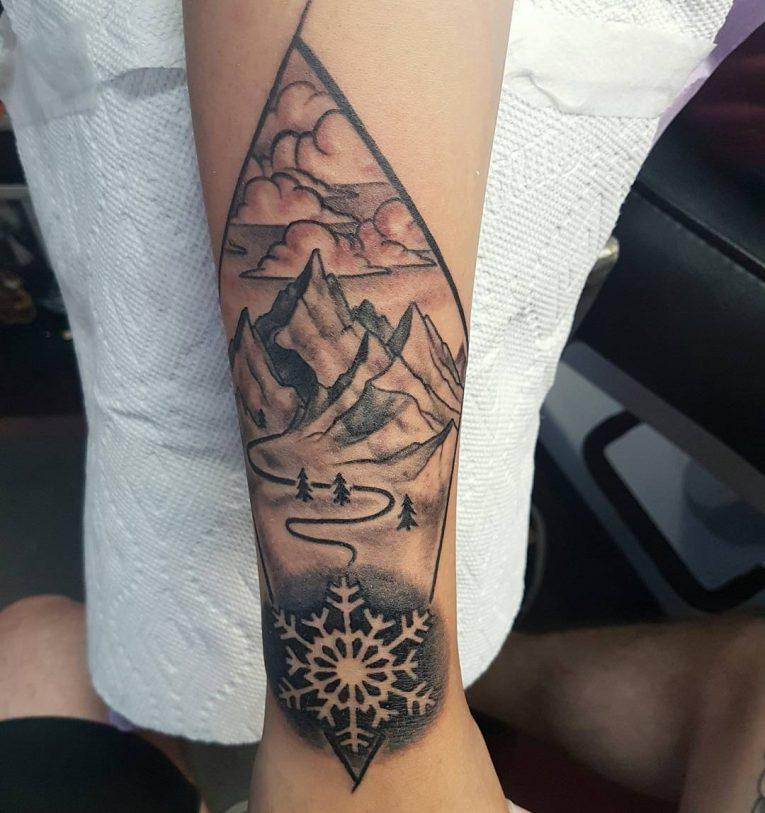 Mountain Tattoo 82