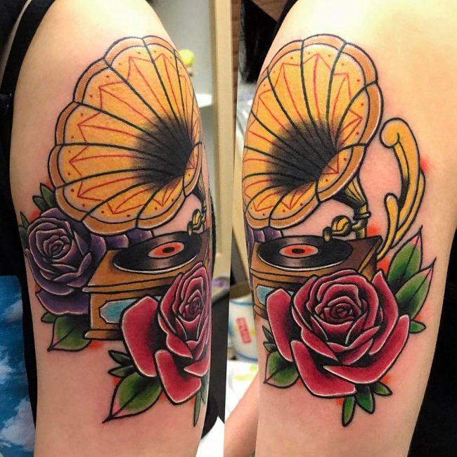 Music Tattoo 59