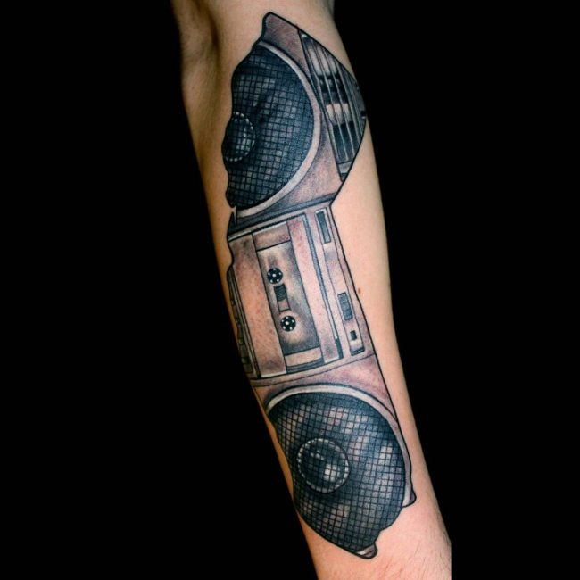 Music Tattoo 60