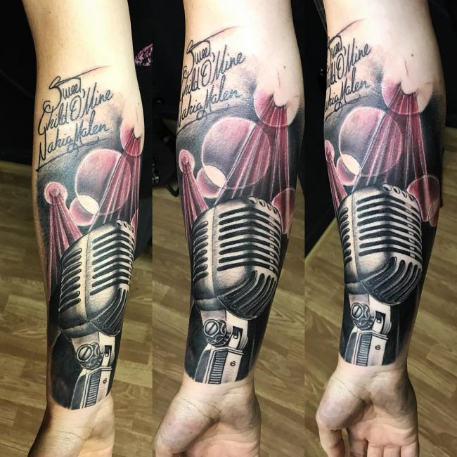 Music Tattoo 64