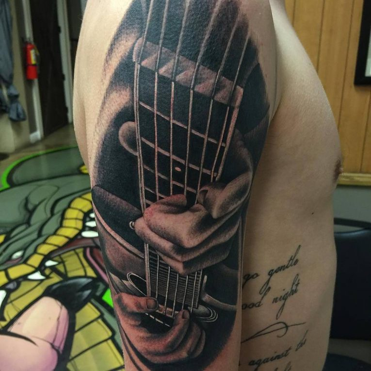 Music Tattoo 66