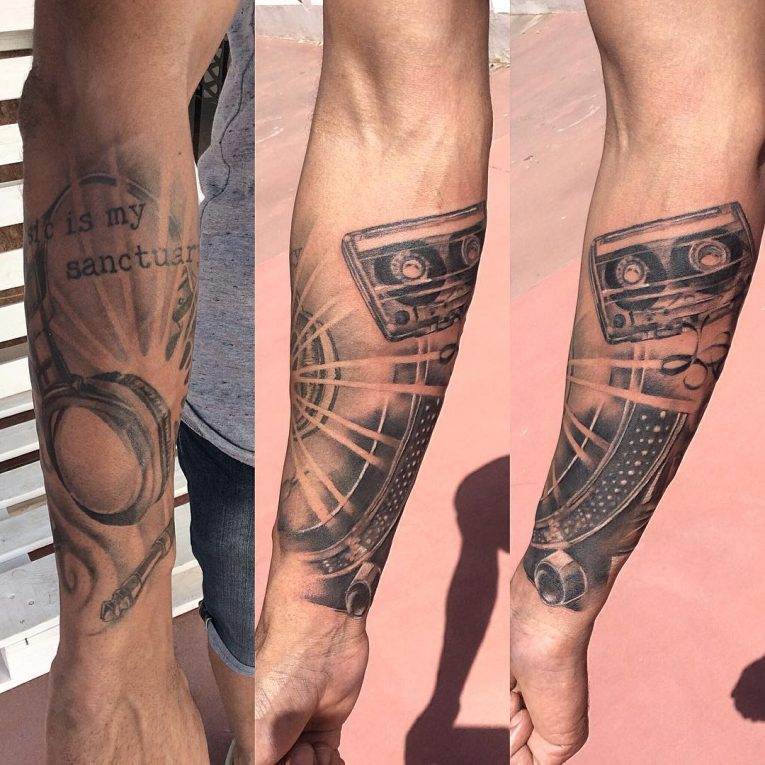 Music Tattoo 67