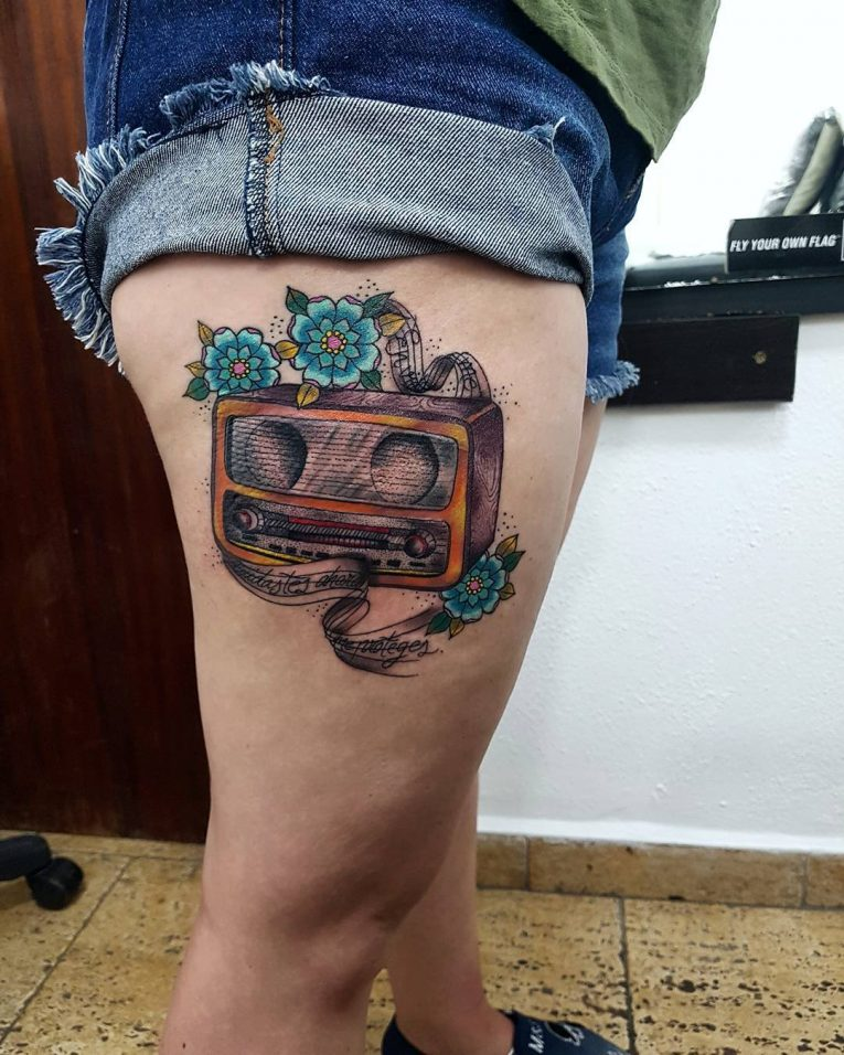 Music Tattoo 68