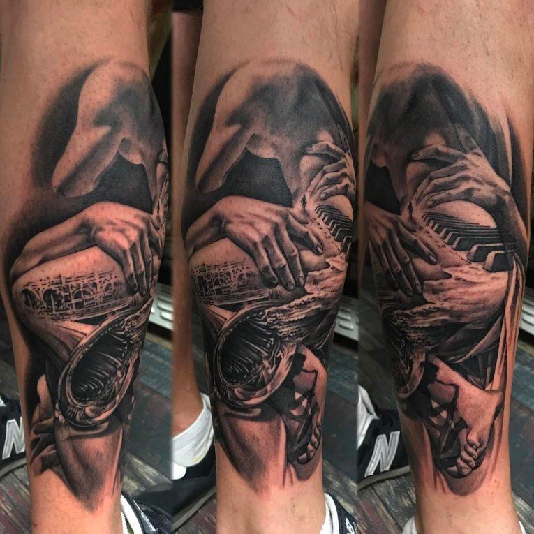 Music Tattoo 72