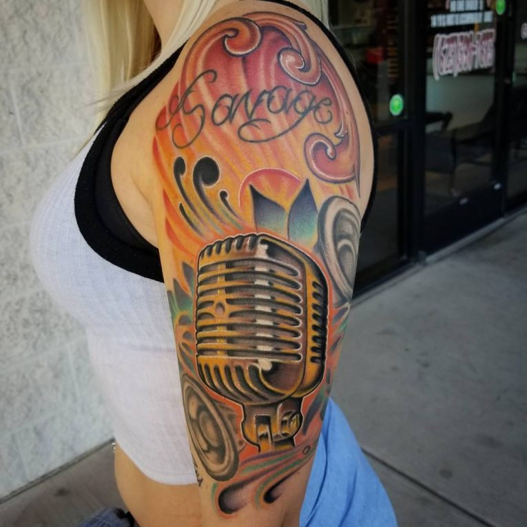 Music Tattoo 73