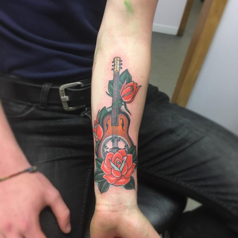 Music Tattoo 74