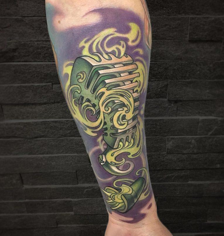 Music Tattoo 75