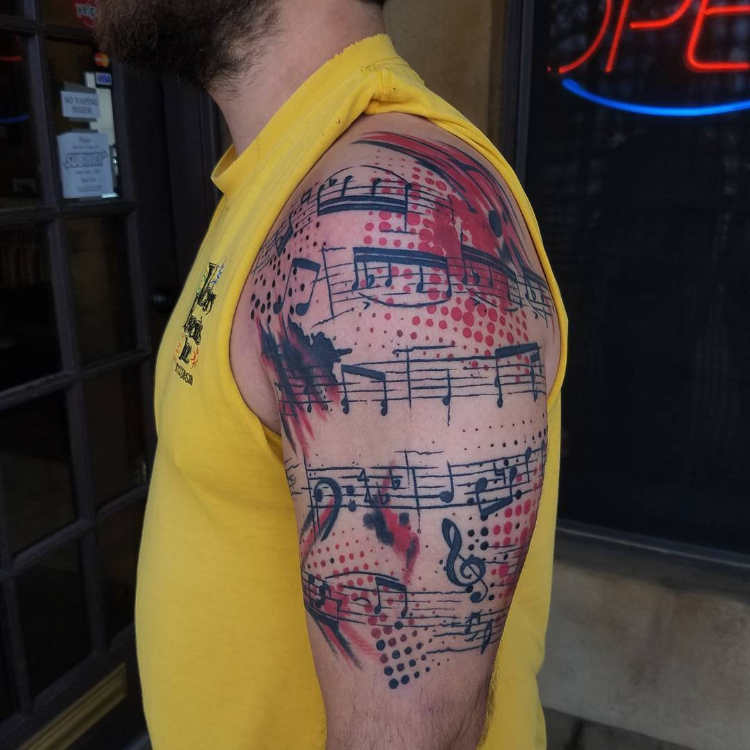 75+ Best Music Tattoo Designs & Meanings