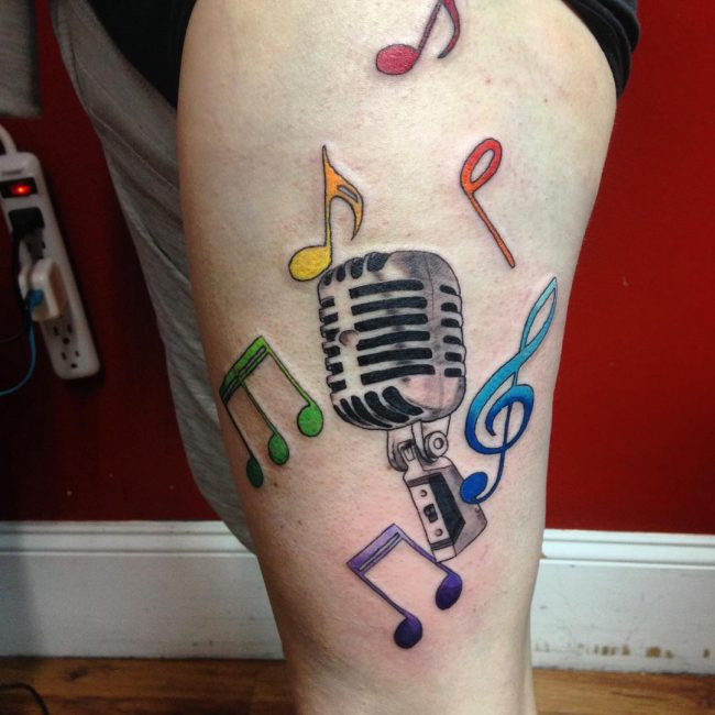 Music Tattoo_
