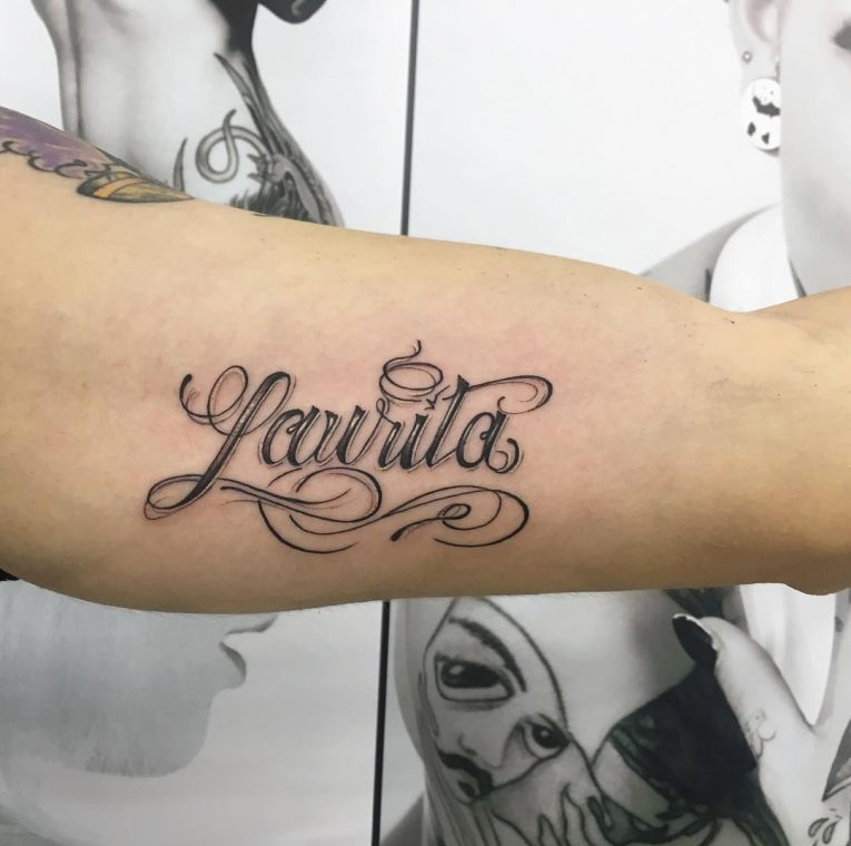 Name Tattoo 102