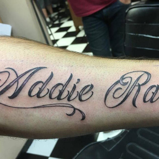 Name Tattoo 84