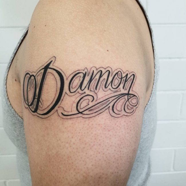 Name Tattoo 85