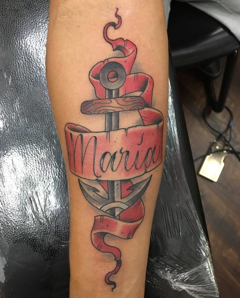 Name Tattoo 95