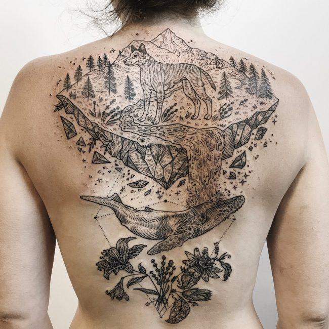 Nature Tattoo 106